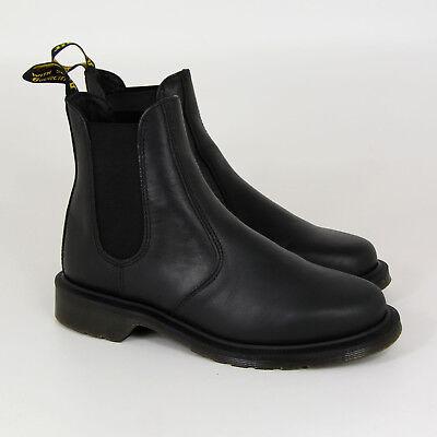 Dr. Martens Laura, 13465002, Chelsea Boots, Black, Polished Apache, Leder, Neu | eBay
