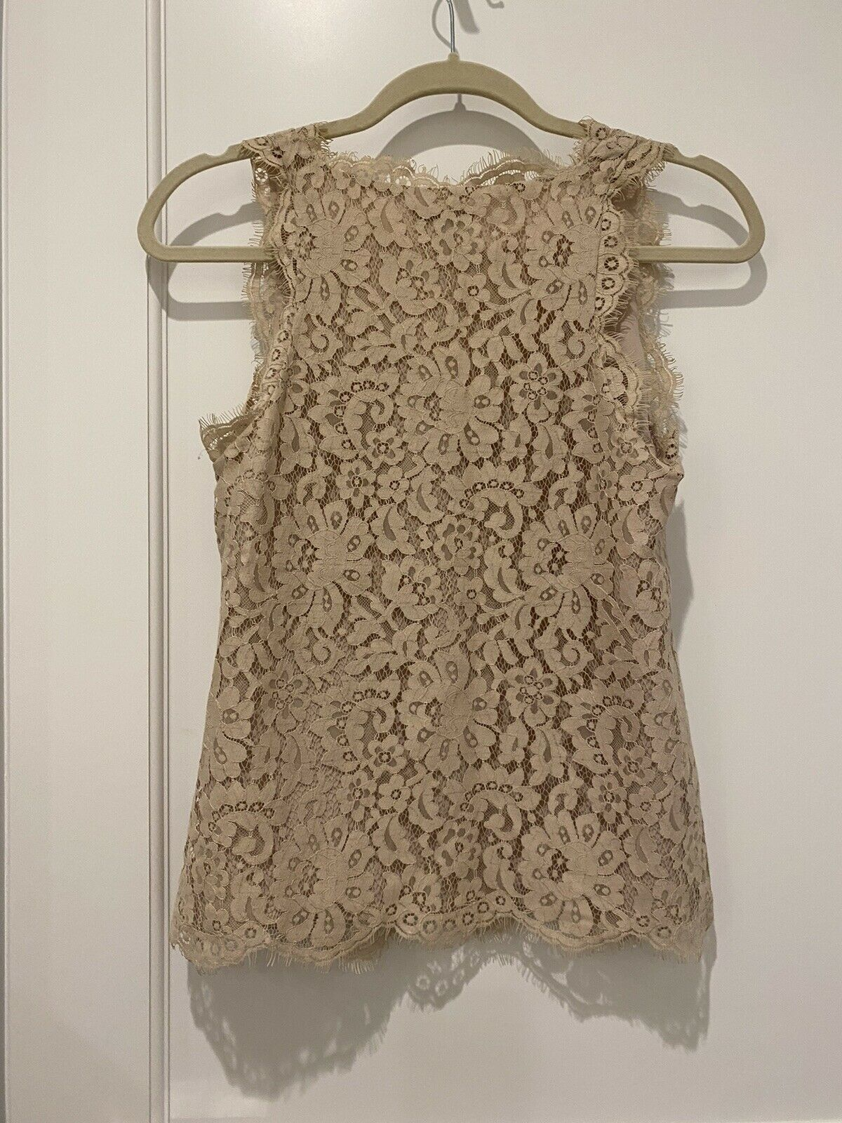 Joie dusty pink Lace Tank Top - image 2