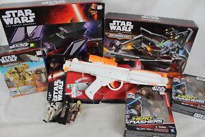 Énorme figurine d'action Star Wars, nouvelle collection de lots de jouets à plume Micro