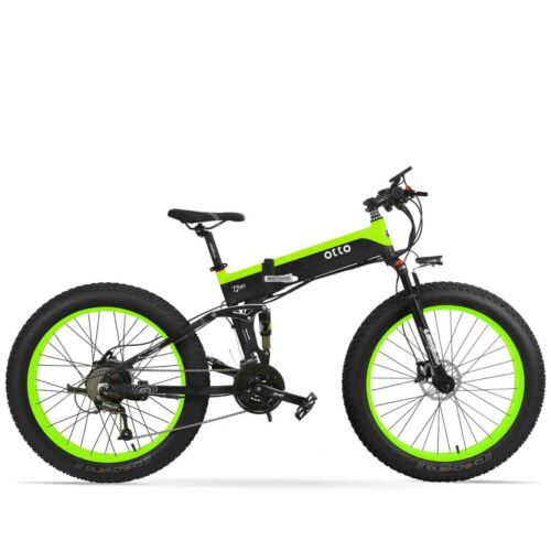 OTTO-Electric-Mountain-Ebike-T500-Shimano-26-Inch-Fat-Tyre-Foldable-48V-10Ah