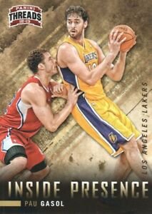 2012-13-Panini-Threads-Inside-Presence-5-Pau-Gasol-Los-Angeles-Lakers