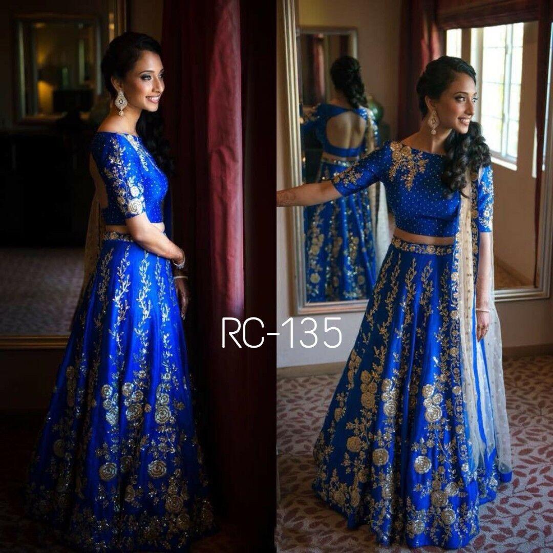 Wedding Party Wear Designer Lahenga Indian Pakistani Bridal Lehenga