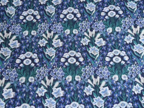 - 100/% COTTON FABRIC MOUNTAIN PRIMROSE LIBERTY TANA LAWN C