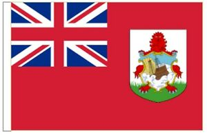 Bermuda Sleeved Courtesy Flag ideal for Boats 45cm x 30cm