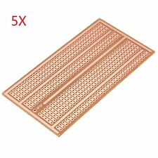 5Pcs 5X10cm Single Side Copper Prototype Paper PCB Breadboard 2-3-5 Joint Hole