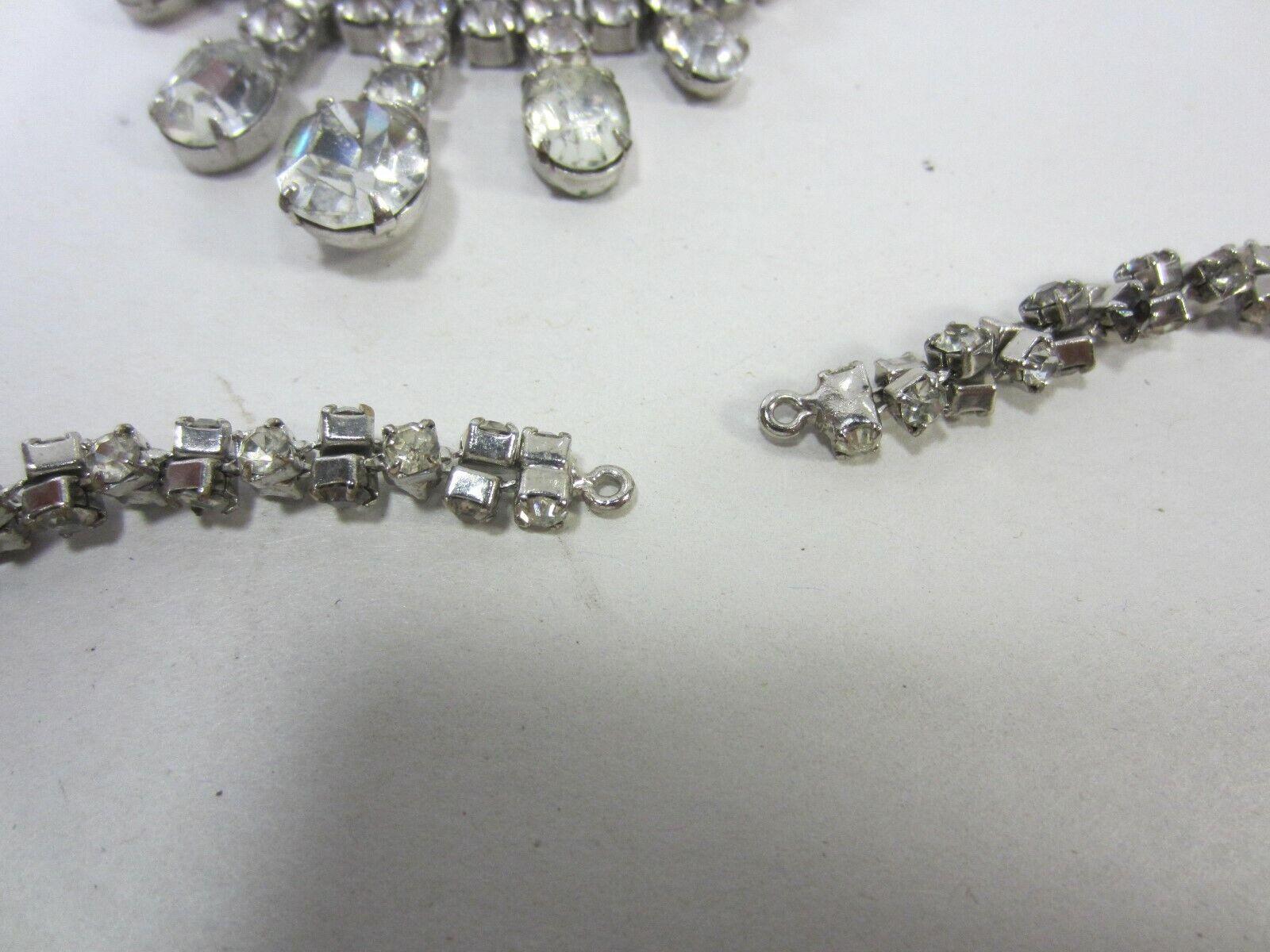 Vintage Lot of Rhinestones- Dress Embellishment, … - image 10