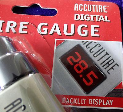 Kg//CM2 ACCUTIRE  Digital TIRE Pressure Gauge  MS4021B PSI KPa BAR