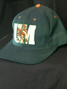 new arrivals db706 9d193 Image is loading VTG-Miami-Hurricanes-Hat-NCAA-ACC-Fitted-7-
