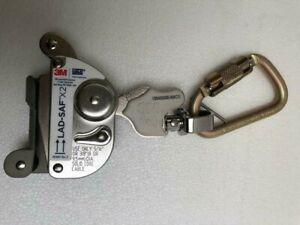 """3M Dbi Sala 6160030 Lad-Saf X2 Détachable Câble Manche 5/16 """" & 3/8 """" # Neuf 3"""