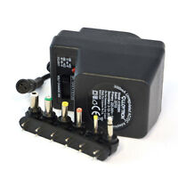 300mA AC DC Universal Mains Plug Power Supply Charger Adapter Adaptor 3v-12v