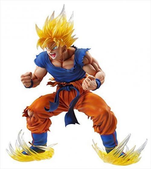 NEW Chozo Art Collection Dragon Ball Super Saiyan Son Goku Ver.2 ClearHairFigure