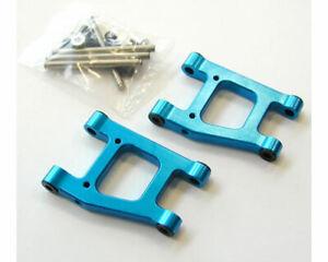 Yeah-Racing-Aluminium-Rear-Plus-Bas-Bras-Bleu-X-Tamiya-TT-01-TT-01E-2pz-Model