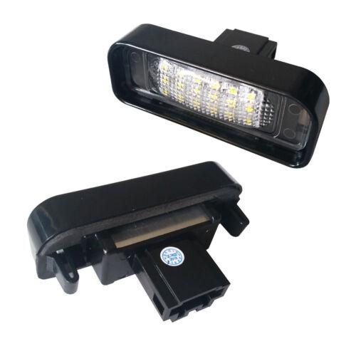 LED SET MERCEDES S-KLASSE Kennzeichenbeleuchtung Kennzeichen Leuchte