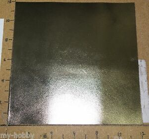 """Pewter Colored Metallic Leather Craft Cut - 12"""" x 12"""" - 1 to 2 oz. Weight"""