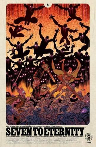 Seven to Eternity #8 B Image Comics 1st Print EXCELSIOR BIN