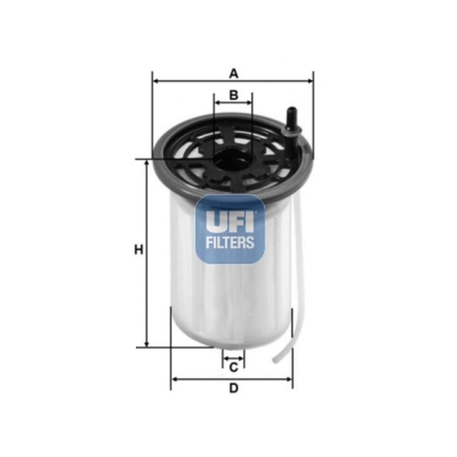 Ufi Filters 26.079.00 Diesel Filter