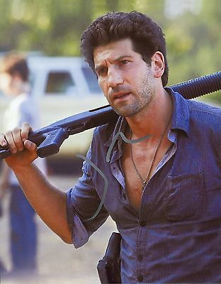 "Jon Bernthal Authentic Hand-signed ""shane The Walking Dead"" 8x10 Photo Autographs-original Entertainment Memorabilia"