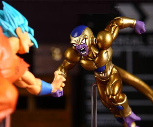 DragonBall Super Golden FRIEZA Kakarotto Enemy PVC Action Figure 15cm Model Gift