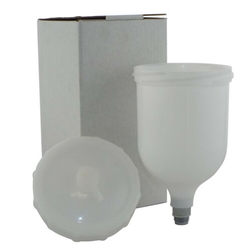 Replacement//Spare Cup /& Lid for Devilbiss SLG-620 /& SLG-610 Paint Air Spray Guns