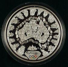 Australia 2000 Sydney Olympics, $5 Silver Proof, in orig. Perth Mint case