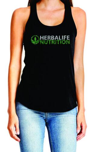 Herbalife Glitter Razor Back Tank top