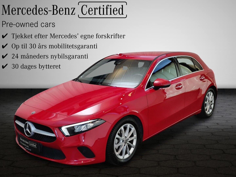 Mercedes A200 d 2,0 Advantage aut. 5d - 349.800 kr.