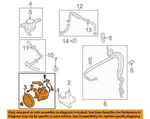 image is loading subaru-oem-05-06-legacy-power-steering-pump-