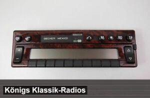 Radio-Frontaufsatz-Becker-Mexico-2330-mit-Bedienaufsatz-und-Elektronik