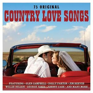 Country-Love-Songs-3-CD-NEW-SEALED-Glen-Campbell-Dolly-Parton-Johnny-Cash