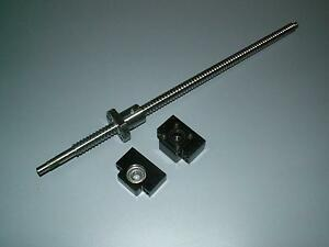 1-anti-backlash-25mm-ballscrew-RM2505-1200mm-C7-BK-BF20-end-bearing-support-CNC