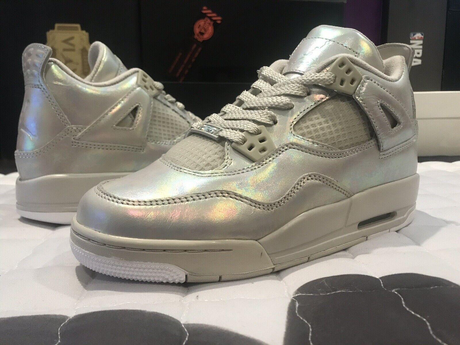 2015 New Nike Air Jordan IV 4 Retro GG PEARL sz 6Y  742639 045