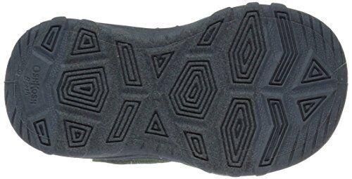 OshKosh Hax Boys/' Toddler Athletic Sport Sandal Shoe Lime Green Grey 5 6 8 10 11