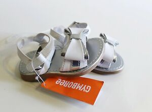 White Silver Sandals Infant Size