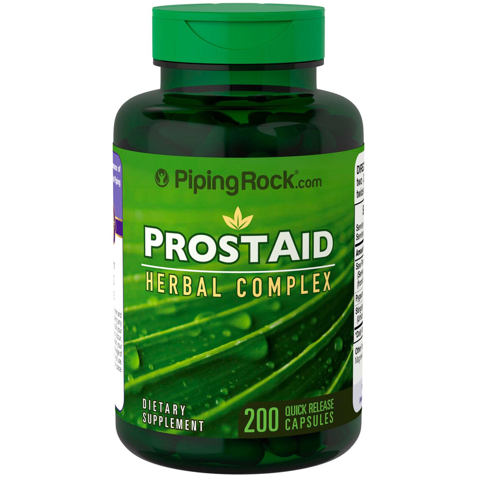 s l1600 - ProstAid 200 Cápsulas - Saw Palmetto + Pygeum + Ortiga + Licopeno