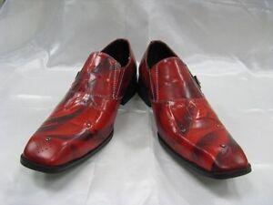 Fiesso Scarpe Nuovo Stringate Non 8214 W Pelle Fi Rosso fibbia rdrY0qAw