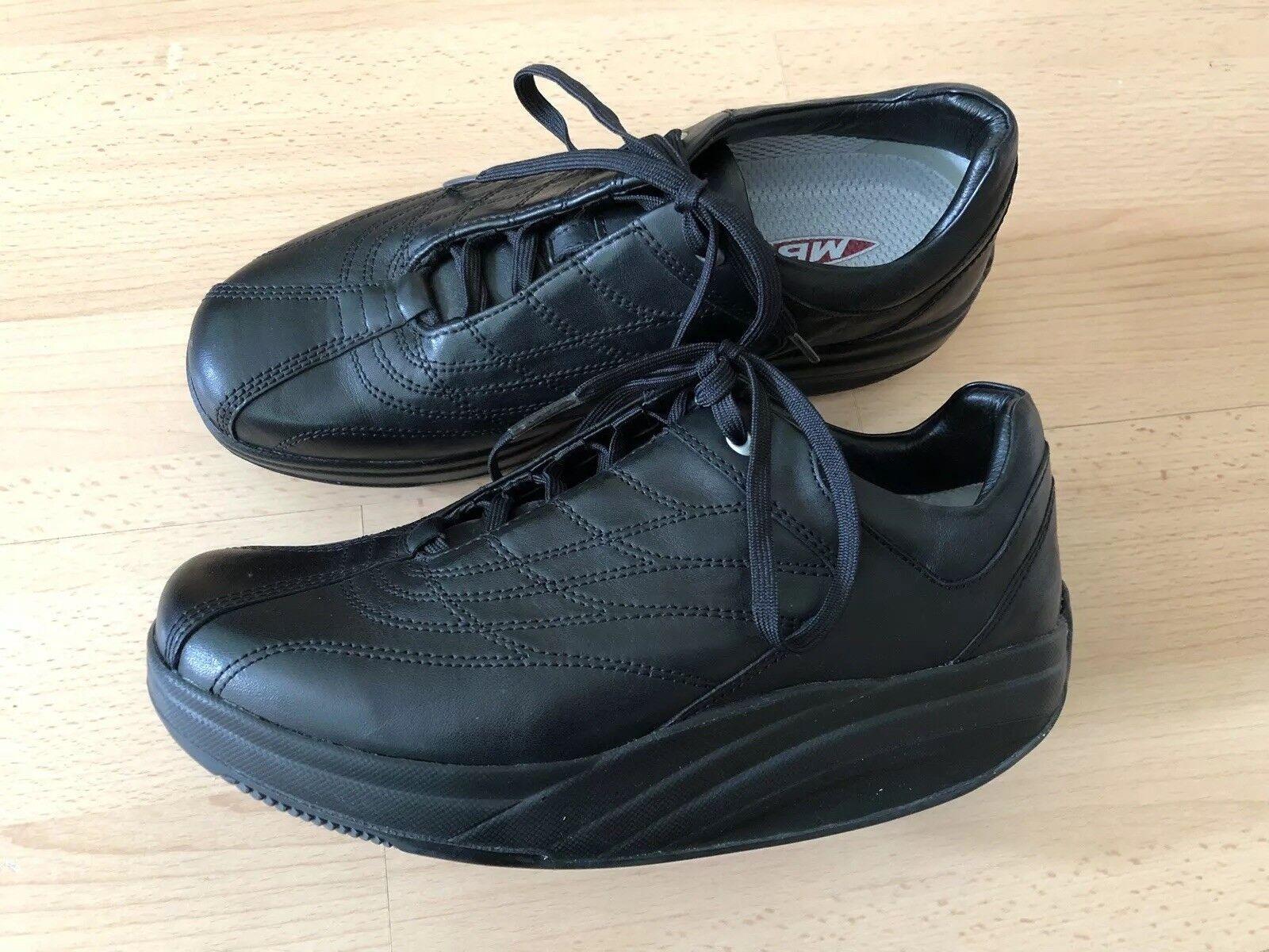 MBT Schuhe Damen Leder Gr. 39 3. Schwarz