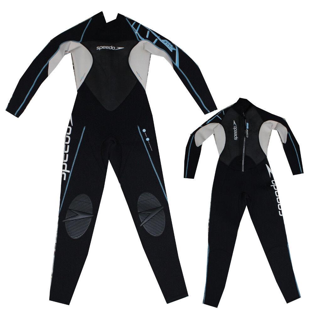 Speedo Traje Completo 3 2 Neopreno Talla M Oleaje Kite Mujer Esquí Náutico