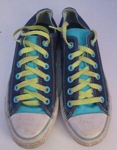 Taylor zapato o 5 Tama azul Lona Chuck Vtg Plimsoll Lo verde Converse Unisex Pxzw76