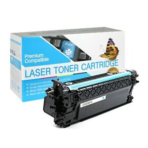 CE401A / 507A Compatible SO Toner Cartridge for HP M551DN (Cyan,1 Pack)