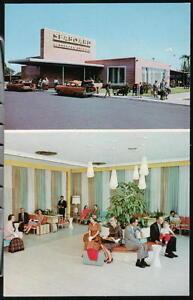ST-PETERSBURG-FL-Seaboard-Railroad-Depot-Vtg-Postcard