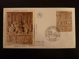 Capable France Premier Jour Fdc Yvert 2053 Chateau D Ecouen 2f Ecouen 1979