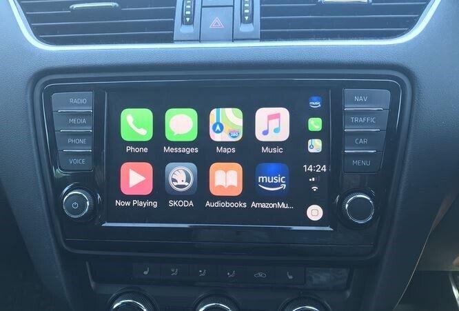 Software/kort, VW Apple Carplay / Android Auto / Smartlink
