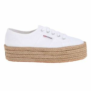 feb69ee12a8 Image is loading Superga-2790-Cotropew-White-Womens-Trainers