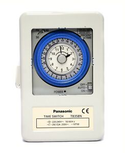 1pc-Panasonic-TB358N-TB358-AC220V-Time-Switch-Load-10-20A-0-24hrs-15min-on-off