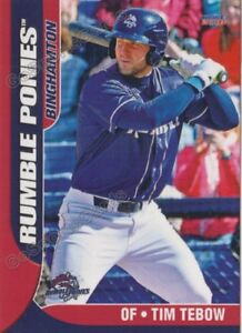 Details About 2018 Binghamton Rumble Ponies Tim Tebow Rc Rookie Ny Mets