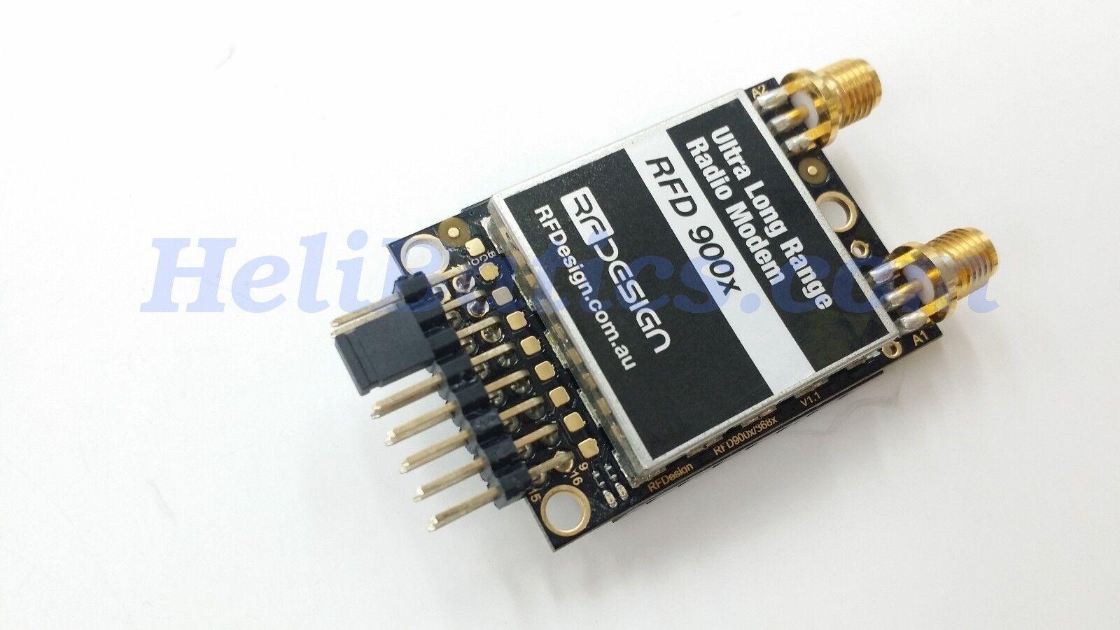 Rfdesign RFD900x Modem RC control y telemetría radio módem con la diversidad