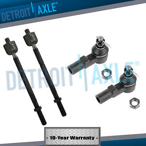 Front Steering Inner /& Outer Tie Rod Ends Kit Set of 4 for CTS RWD 2WD New