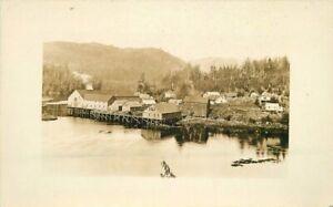 C-1910-Pacific-Northwest-Waterfront-Industry-RPPC-Photo-Postcard-20-2889