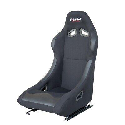 Casa Del Sedile Snc.Sedile Sportivo Non Reclinabile Damon Tessuto Nero Slitte Simoni Racing Ebay