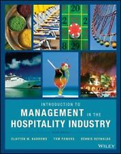 Introduction to Management in the Hospitality Industry 10th Ed